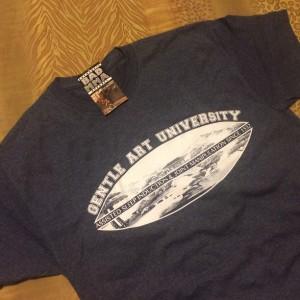 Gentle Art University™ Est. 1532 t-shirt - Blue